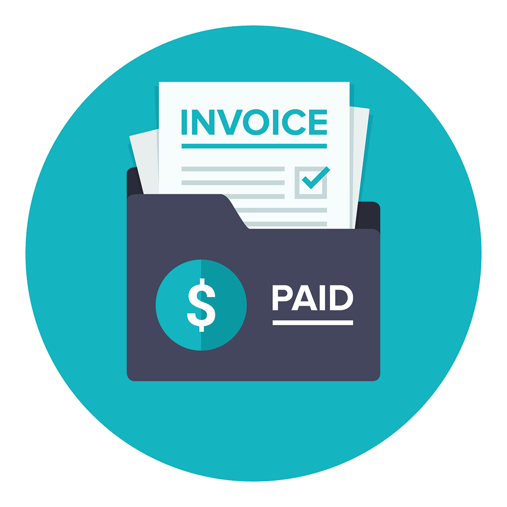 Folder of Paid Invoices